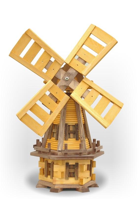 Drewniane wiatraki ogrodowe masuren souvenir - Moulin a vent en bois a fabriquer ...