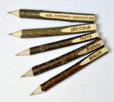 0003a -Długopis drewniany wypalany 100 szt
