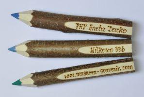 0001a – Kredka drewniana mała wypalana 100 szt CE